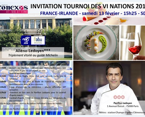 Invitation-conexys-Tournoi-VI-Nations-2016-France-vs-Irlande-Alleno-Ledoyen